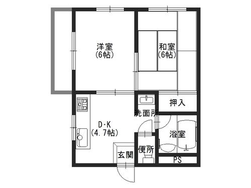 大美マンション405.JPG